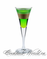 Коктейль Абсент без разрешения (Absinthe without leave)